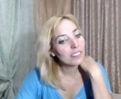 Free sex webcam  with mariska-kiska. Blonde with small