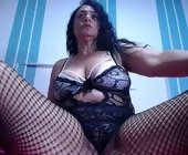 Webcam sex show  with sandrasquirt. Brunette with big boobies