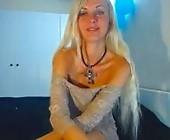 Cam xxx  with VVVIIIKKK. Blonde with medium breasts