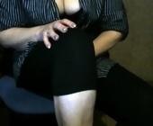Amateur live webcam  with madam2017. Brunette with big tits