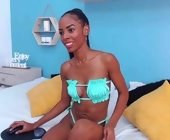 Live free sex webcam  with AlissonFox. Brunette with medium boobs