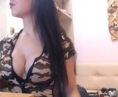 Cam porn  with evakeksik. Brunette with big boobies