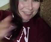 Amateur live sex cam  with Katerinagreiz. Brunette with medium breasts
